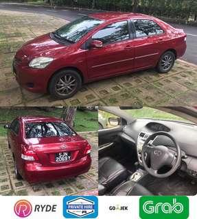 Toyota Vios For Private Hire Lease