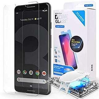 Whitestone Pixel 3/3 XL Tempered Glass Screen Protector