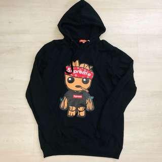 🚚 Supreme groot unisex hoodie XL