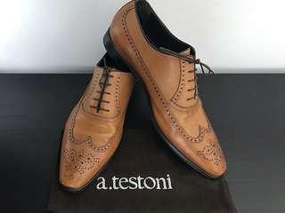 a. testoni Wingtip Brogue - EU 43.5 / US 10.5 / UK 9.5