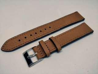 Classic Leather Strap 18mm Brown