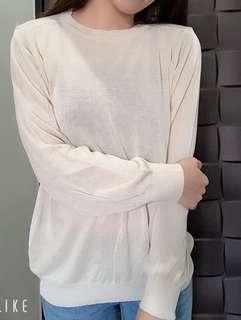 🚚 杏色針織長袖