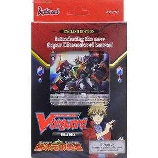 Cardfight vanguard dimensional police deck + sleeves