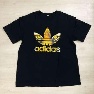 Adidas tiger face tshirt