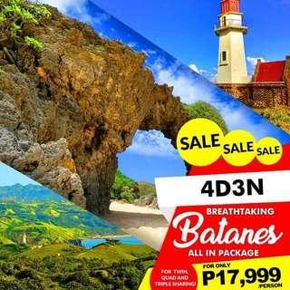 4D3N BATANES ALL-IN PACKAGE (via Manila)