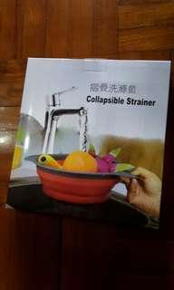 可摺叠洗菜盤 Strainer(5/12前可購買)