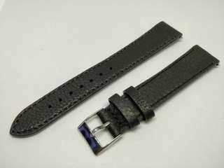 Classic Leather Strap 18mm Black