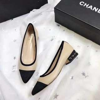 Authentic Chanel Flats / Heels / Shoes