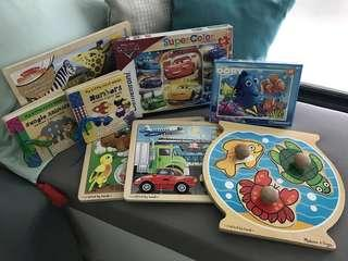 Pre-loved Jigsaw Puzzles bundle