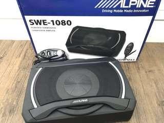Offer original Alpine SWE-1080 Active Underseat
