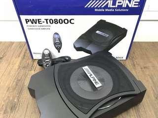 Offer original Alpine Active subwoofer PWE-T080OC Original