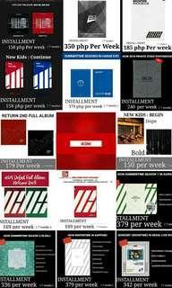 [ Hulugan P.O ] iKON ALBUMS AND DVD INSTALLMENT PREORDER