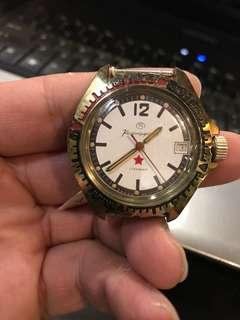 俄羅斯軍用機械手錶機心
