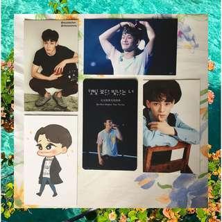EXO Chen Unofficial Merch / Photocards