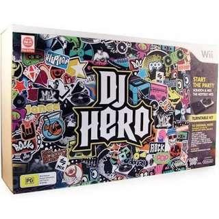 [Turn Table Included] DJ Hero Wii