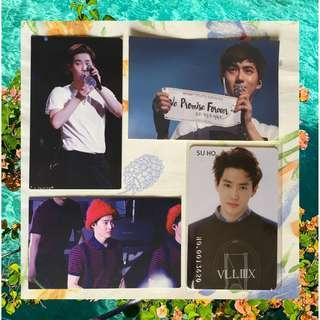 EXO Suho Unofficial Merch / Photocards