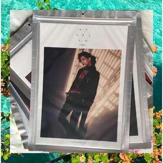 EXO Chen Monster Official A4 Photocard / Merch