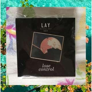 EXO Lay Lose Control Official Pin / Badge