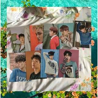 EXO Official Lucky One A5 Photocards / Postcards / Merch [NOT FULL SET]