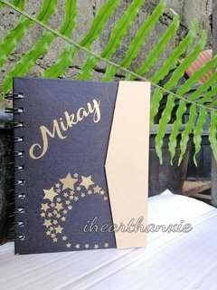 Personalized Eco Notebook