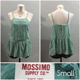 Sexy mossimo mint green top (small-medium) 50 php only!