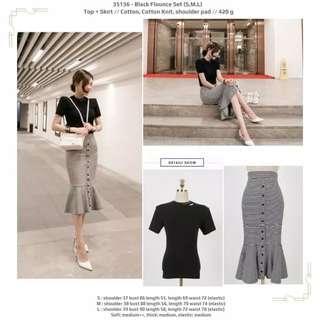 SET BLOUSE AND SKIRT / KOREAN DRESS