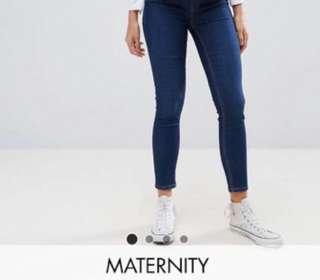 New ASOS Maternity Jeans 孕婦牛仔褲堆填前減價$50