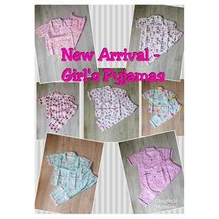 *December Sale* Handmade Premium Girl/Boy Pyjamas (Assorted Designs)
