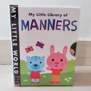 My little library - Manners