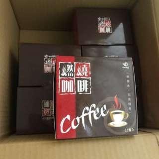 Joyhui 燃燒咖啡x6盒 1盒10包 共60包