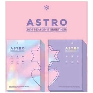 [Pre-order] ASTRO SEASON'S GREETINGS 2019 (HOLIDAY ver. || SUNNY DAY ver.)