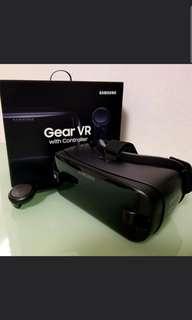 Samsung Gear VR (SM-R325) 有盒有單 新淨 連Controller控制器 支援Note 9, S9+等等