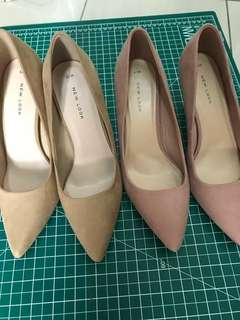 Auth New Look Pointed Court Heels