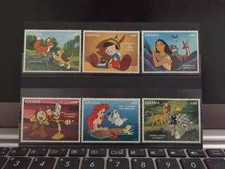 Disney Characters Stamp - Ghana