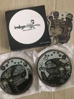 Indigo Child 玻璃杯墊