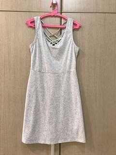 6ixty 8ight Casual Summer Gray Dress
