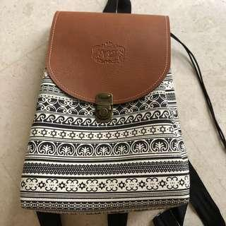 Tribal Print Backpack