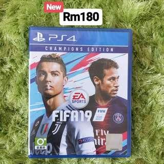 [New] PS4 Games - Fifa19 R3 Champions Edition