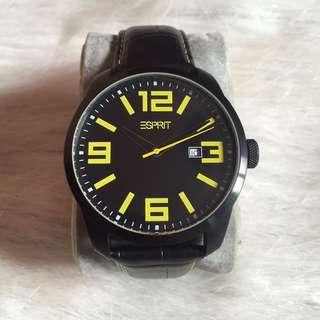 Esprit Black Strap Watch