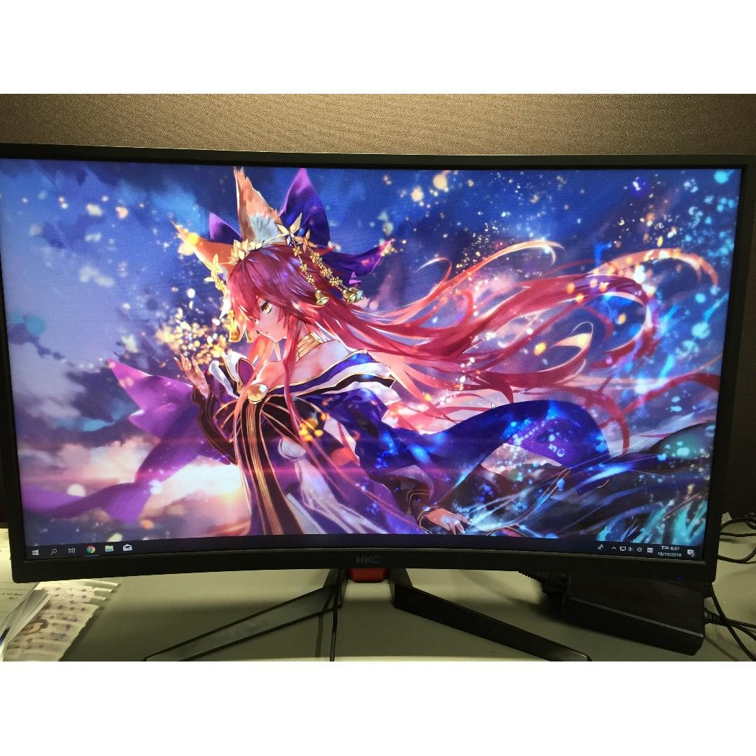 144hz 27in curved gaming monitor, Electronics, Computer