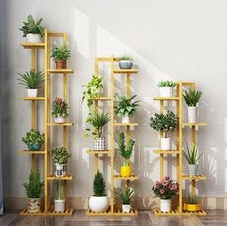 Plant corner flower shop indoor simple shelf multi-layer