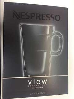 Nespresso view mug 有耳玻璃杯