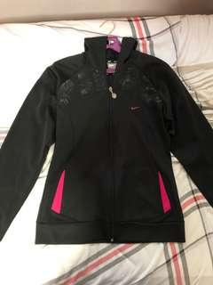 Nike Black Colour Sports Jacket with hood