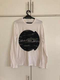 Calvin Klein Jean's long sleeved tee