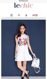 0f84a5917d1b Lechic Floral Embroidery Dress