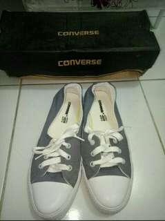 TURUN HARGA!! Sepatu Converse All Star Women Gray 37, 38 TRUSTED SELLER