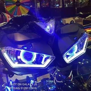 Yamaha r25 hid headlamp rm1250 wasap.my/60126135416 stock limited readystock readypos