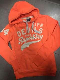 Superdry Orange Hoodie