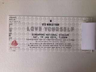 🚚 [WTS] BTS LOVE YOURSELF IN SG CAT3 GREEN
