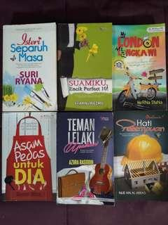 Pre-loved Malay Novels for Sale!